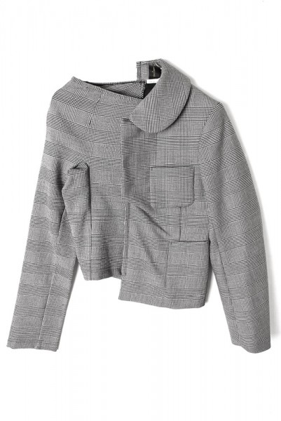 【COMME des GARCONS WEARABLE ARCHIVES】JACKET 2007/GREY[CDG-115]