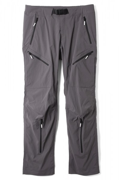 【99%IS-】ACTIVE ZIPPER PANT/GRAY