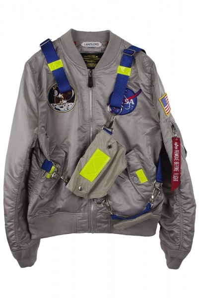 ◆20%OFF◆【LANDLORD】Custom Alpha Nasa Jacket /Grey