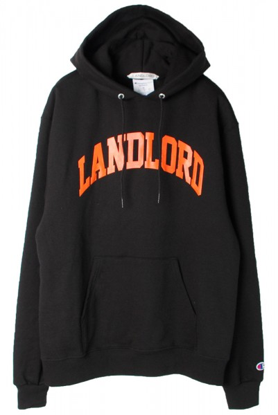 ◆50%OFF◆【LANDLORD】University Hoodie/Black