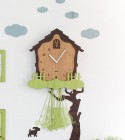The ONEwall clock ウォールクロック《Swing House》Swing_house
