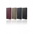 "GRAMAS COLORS<BR>""EURO Passione"" Book PU Leather Case<BR>手帳型ケース<BR>for Xperia XZ2<BR>《Wine》<BR>CLC-61328WNE"