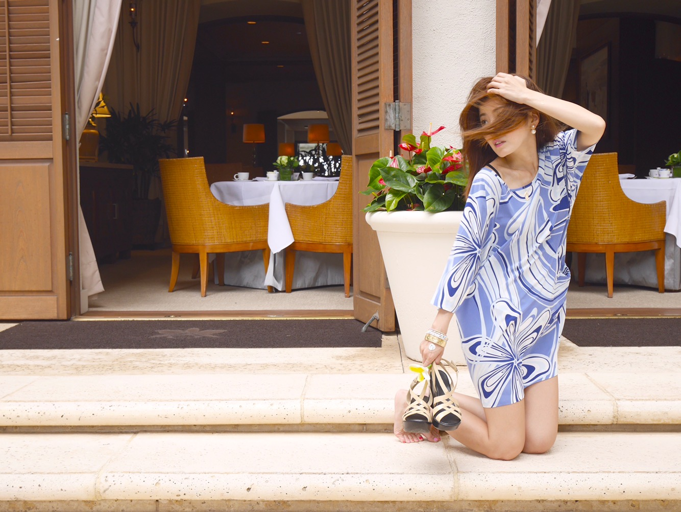 ハワイアン リゾート ワンピース・ドレス