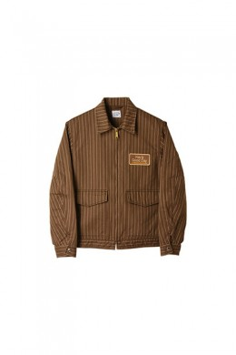 15% OFF|STANDARD CALIFORNIA スタンダードカリフォルニア|19SS SD H.G.D HERRINGBONE STRIPE WORK JACKET BROWN