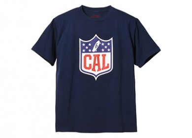 STANDARD CALIFORNIA スタンダードカリフォルニア|19AW SD CAL SHIELD LOGO T NAVY