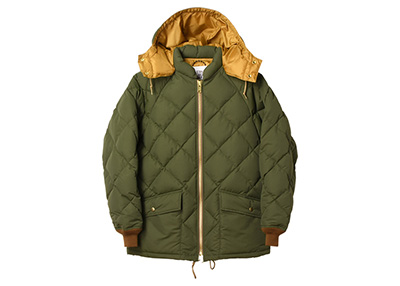 20% OFF|STANDARD CALIFORNIA スタンダードカリフォルニア|19AW SD CLASSIC QUILTED DOWN JACKET OLIVE
