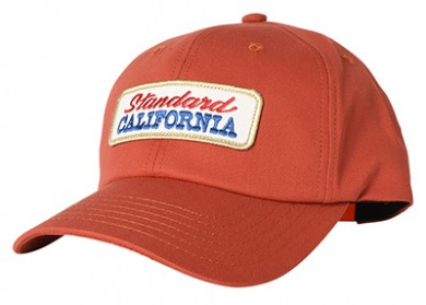 STANDARD CALIFORNIA スタンダードカリフォルニア|19AW SD LOGO PATCH TWILL CAP RED