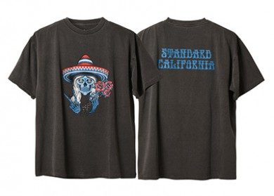 STANDARD CALIFORNIA スタンダードカリフォルニア|20SS AH × SD DEAD GIRL T BLACK